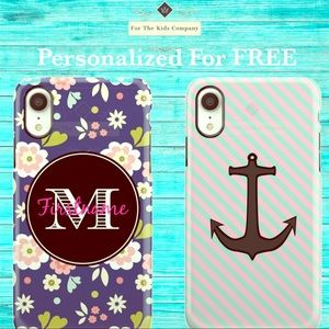 Personalized Monogrammed Phone Cases